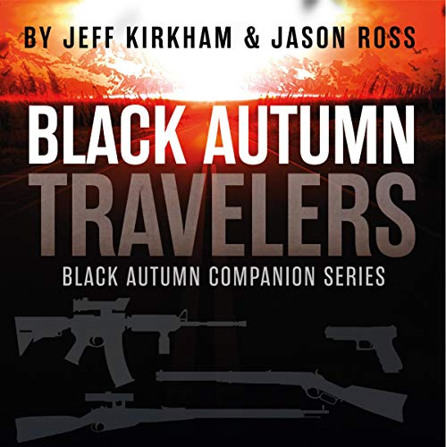 Black Autumn Travelers audiobook cover art