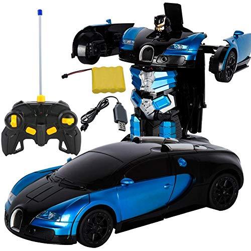 G-wukeer 1:12 umbau RC fernbedienung verformung einknopf verformung roboter fernbedienung auto umwandlung Bugatti Rambo verformung auto geste induktion verformung spielzeugauto