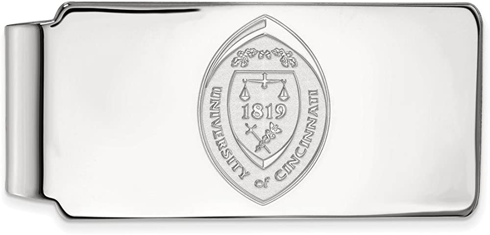 Solid 10k White Gold Official University Busi Slim of Challenge the Clearance SALE! Limited time! lowest price Japan ☆ Cincinnati