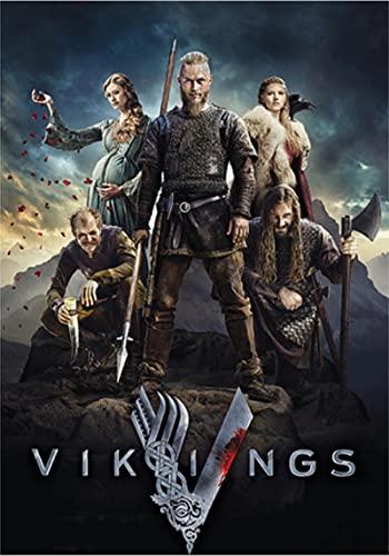 WYMADAL Puzzle 1000 Piezas Serie De Televisión Clásica Show Vikings Intelectual Educativo Divertido Juego Familiar Juguete
