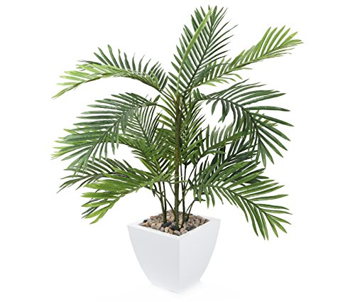 Closer to Nature Artificial 2ft 6' Kentia Palm Tree - Artificial Silk Plant and Tree Range