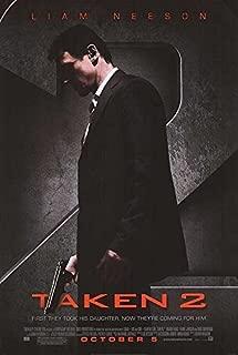 TAKEN 2 (2012) Original Authentic Movie Poster 27x40 - Double-Sided - Liam Neeson - Maggie Grace - Famke Janssen - Rade Serbedzija