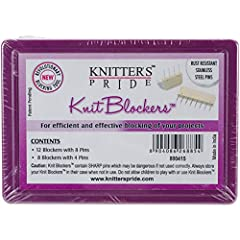 Knit Blockers & Pin Kit- The product is manufactured in India All circular needles are sold separately