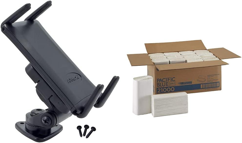 Finally resale start Arkon Adhesive Car Phone or Clearance SALE! Limited time! Black Mount Tablet Holder Midsize