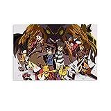 DRAGON VINES Pintura en lienzo Digimon de animación de aventura para estudiantes universitarios, profesores de 60 x 90 cm