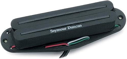 new arrival Seymour Duncan online sale SHR-1 Hot wholesale Rails Single-Coil Sized Humbucker Pickup Black Neck outlet sale