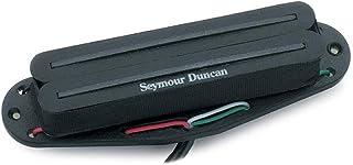 Seymour Duncan SHR-1 Hot Rails Single-Coil Sized Humbucker Pickup Black Neck