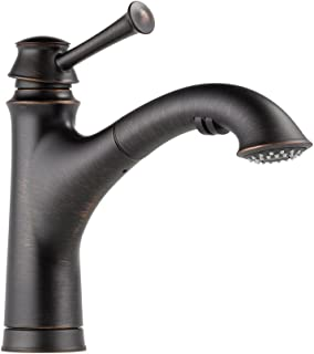Brizo 63005LF-RB Baliza Kitchen Faucet with Pullout Spray, Venetian Bronze