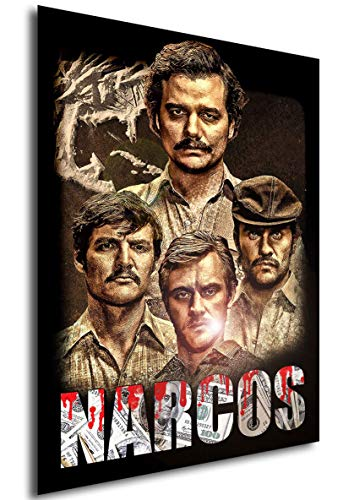 Instabuy Poster Narcos - Theaterplakat - A3 (42x30 cm)