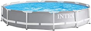 Intex 26710EH 12ft x 30in Prism Metal Frame Above Ground Swimming Pool with Easy Set-Up and fits up to 6 People (Filter Pu...
