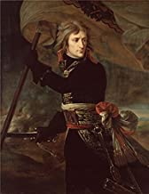 The Perfect Effect Canvas Of Oil Painting 'Napoleon Bonaparte On The Bridge At Arcole,1797 By Baron Antoine-Jean Gros' ,size: 18x23 Inch / 46x59 Cm ,this Cheap But High Quality Art Decorative Art Decorative Canvas Prints Is Fit For Laundry Room Decor And Home Decor And Gifts