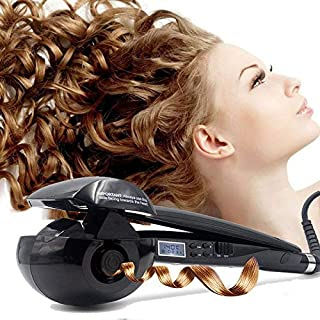 Magic Automatic Curling Hair Curler Iron Curl Wave Machine Professional Ceramic Curling Wand with LCD AU Plug Black for Al...