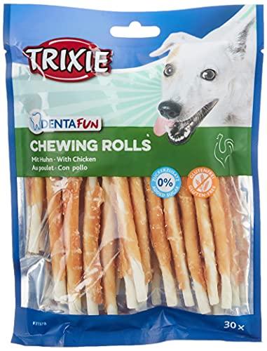 Trixie Denta Fun - Bastoncini da Masticare per Cani, con Pollo