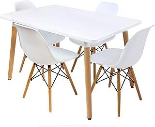 طاولة طعام للاستخدام داخل المنزل او خارجه من ابارزا - موديل ES116
