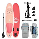 FabricBoard Paddle Surf Hinchable, Unisex-Adult, Coral, Medium