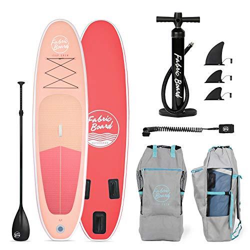 FabricBoard Paddle Surf Hinchable, Unisex-Adult, Coral, Medium