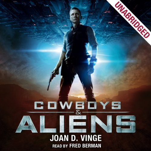 Cowboys & Aliens audiobook cover art