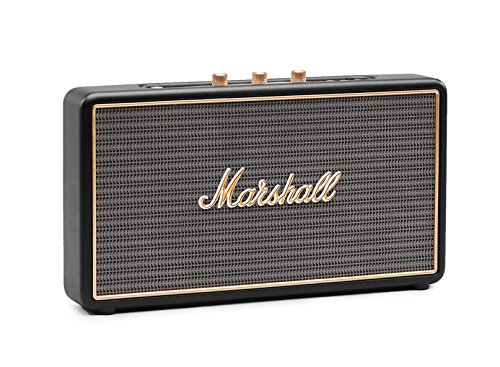 Marshall Stockwell Altoparlante Bluetooth Portatile, Nero