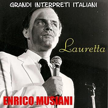 Grandi Interpreti Italiani - Enrico Musiani: Lauretta - EP