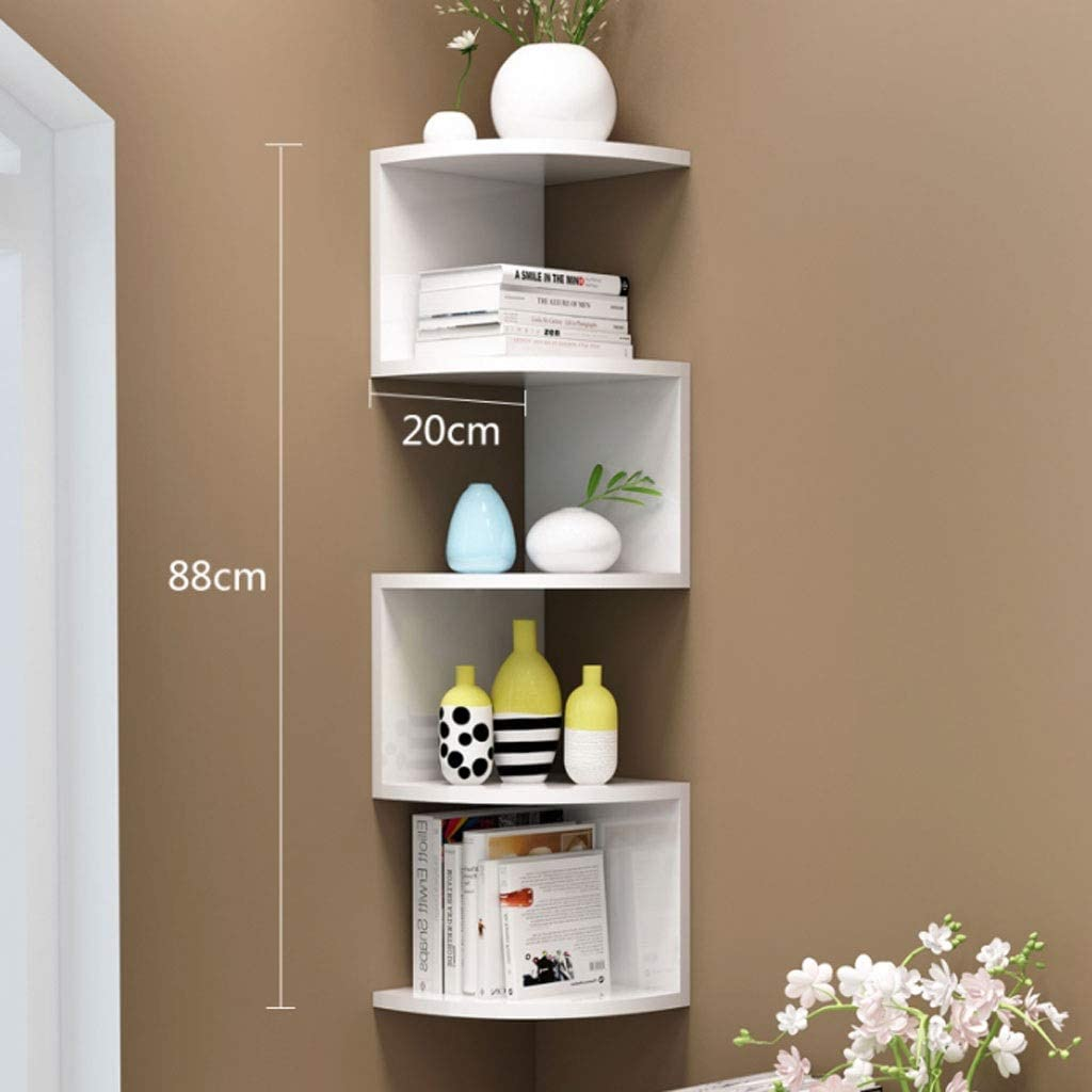 GLoipmm Gorgeous Corner All stores are sold Shelf Unit,5 Tier Used fo Be Shelves Can