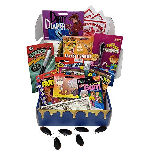 Practical Jokes Kit-Christmas Gifts for Kids-Pranks and Gags For Boys and Girls-Holiday Stocking Stuffers and Funny Gift Set Starter Pack Forum