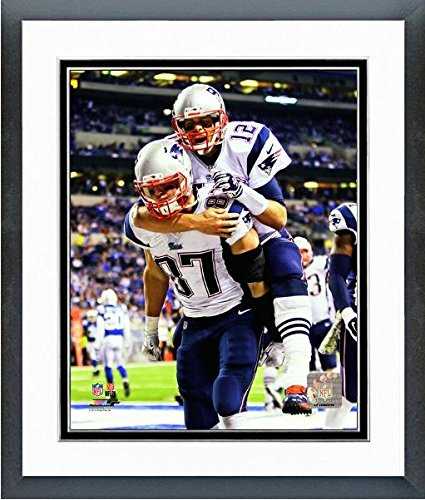 Lawrence Maroney New England Patriots NFL Framed 8x10 Photograph 2007 Playoffs Rushing