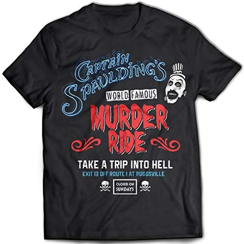 Free Captain Spaulding Mens T-Shirt House of A 1000 Corpses The Devil'S Rejects Thousand Dr Satan