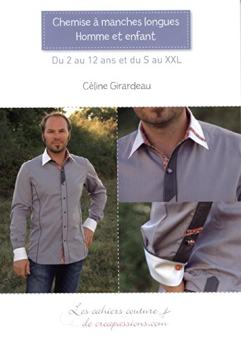 Chemise à manches longues homme et enfant: Du 2 au 12 ans et du S au XXL