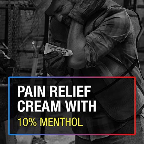 Icy Hot Extra Strength Pain Relieving Cream, Temporarily Relieves Minor Pain Associated with Arthritis, Simple Backache, Muscle Strains, Sprains, Bruises, and Cramps, 1.25 Oz