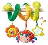 VTech- Baby Sonajero Interactivo de Tela Espiral para Silla Paseo, portabebés,...