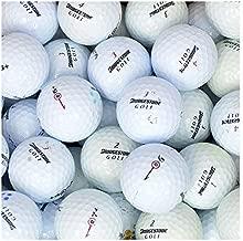 Bridgestone e6 Golf Balls - 50 Used e6 Golf Balls (AAA e6 e 6 Golfball Mix), White, 48 Golf Balls