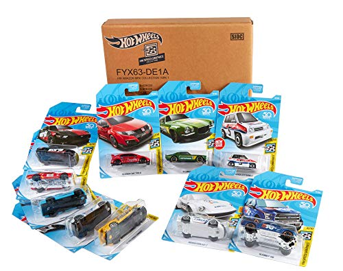 Hot Wheels - Coches, Surtido 10 Vehículos Hot Wheels