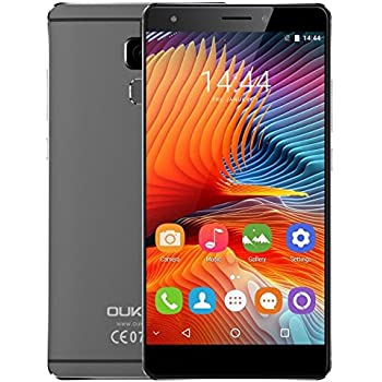 OUKITEL U13-5.5 Pulgadas 4G Android 6.0 Smartphone 3GB RAM 64GB ...