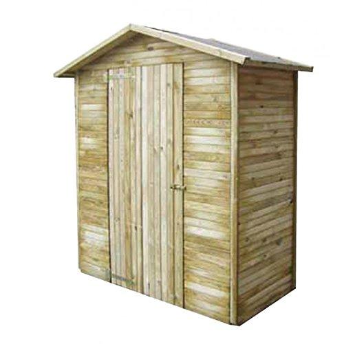 Casetta in legno a pannelli Groenlandia 1 mm 1500 x 730 x 2150h