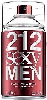 CAROLINA HERRERA 212 Sexy Body Spray for Men, 250 ml