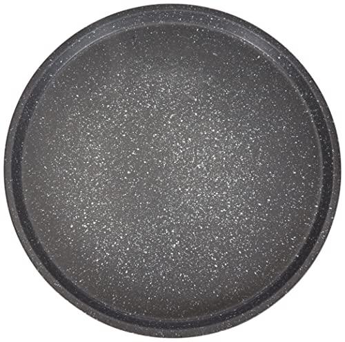 Aeternum Madame Petravera Teglia per Pizza Tonda, Alluminio, Grigio, 33x33x1,5 cm