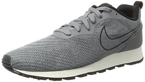 Nike Herren MD Runner 2 Eng Mesh 916774-001 Sneaker, Mehrfarbig (Grey 001), 44.5 EU
