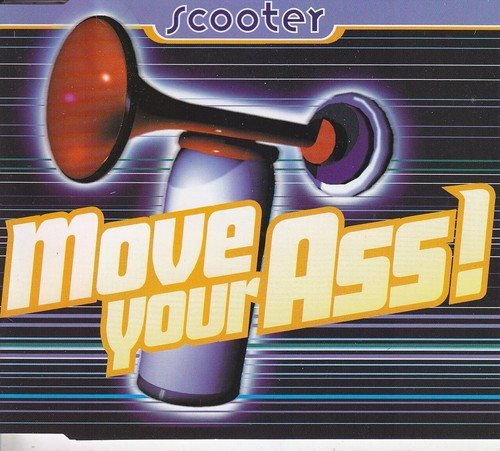 Move your ass (Pappcover) / 61005