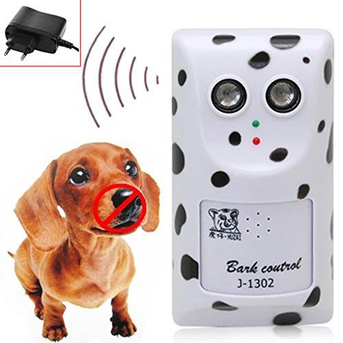 Haven shop Ultraschall-Hundeschreck mit Bellenstopper, Ultraschall gegen Bellen, Anti-Bellen und Bellen
