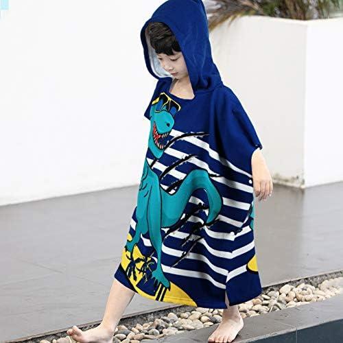 100 Cotton Beach Towel Hooded Kids Wrap Cute Kids Bath Towel Soft Hooded Beach Towel for Girls product image