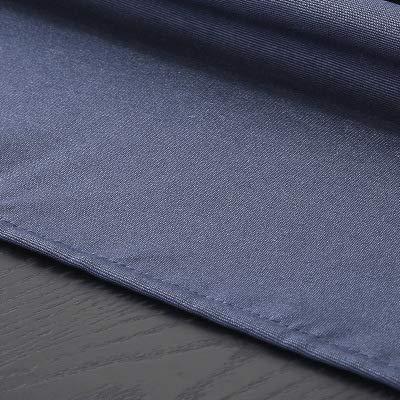 Nappe Coton Imperméable Lin Blanc Rectangulaire 160 * 240cm Couleur Unie Super Large Tissu Anti-éclaboussures Housse Table Cuisine Décoration Table