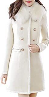 19fe802ec Amazon.com  Whites - Wool   Blends   Wool   Pea Coats  Clothing ...