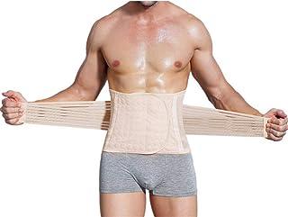 FENTINAYA Adjustable Men Waist Trimmer Trainer Belt Bodyshaper Brace Tummy Fat Burner for Fitness Weight Loss
