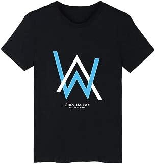 PKPO Alan Walker DJ Music Producer 3D Unisex Cool Handsome Short Sleeve T Shirt T0988-XL