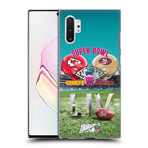 Official NFL Kansas City Chiefs vs San Francisco 49ers 2020 Super Bowl LIV Versus Hard Back Case Compatible for Samsung Galaxy Note10+