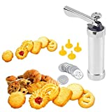 DR Mall Krab Cookie Press Machine for Biscuit Cake Making Decoration Set