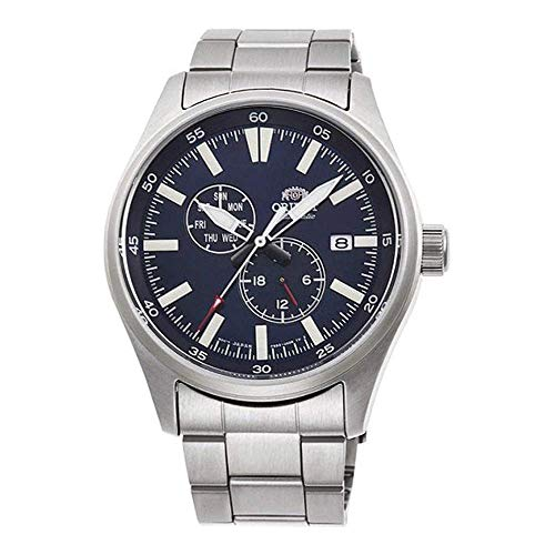 Orient Herren Analog Automatik Uhr mit Edelstahl Armband RA-AK0401L10B