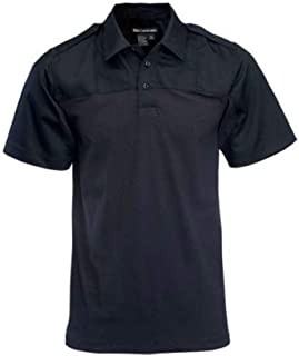 5.11 Tactical Men's Rapid PDU Short Sleeve Polo Shirt, Dual Fabric Construction, Style 71332