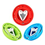 Earbud Case Holder Pack [3 Pack], MAIRUI Earphone Case Wrap Earbuds Nest Tangle-Free Silicone Magnetic Organzier