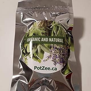 Simple Natural Organic Herbal Smoking Blend, Smoking Mix, Herbal Mixtures, 100% Natural, Nicotine Free, Tobacco Alternative, Smoking Herbs - 0.5oz Pouch (Simple Natural)